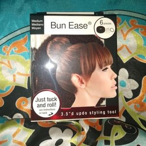 3 Pack of MIA brown NIP beauty bun ease 3.5 inch d